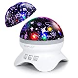 Best Baby Projectors - SUNNEST Baby Projector Night Light Lamp, Kids Starry Review