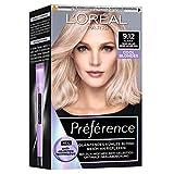 L'Oréal Paris Permanente Haarfarbe mit kühlem Farbergebnis, Haarfärbeset mit Coloration und Anti...