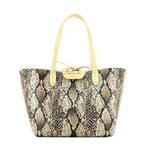 PATRIZIA PEPE BAG 2V5452A2EP-F3H1 Gold Natural Python