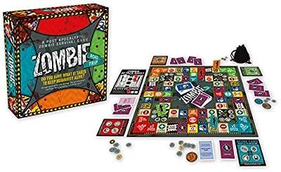 Aquarius Zombie Road Trip Board Game