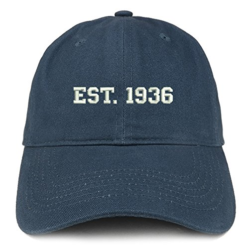 Est. 1936 Embroidered Hat - Choice of Colors