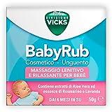 Procter & Gamble Vicks BabyRub Idratante Lenitivo Rilassante Bambini 50 g