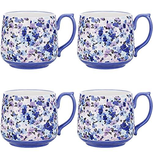 Large Cute Coffee Mug Set - Tea Soup Ceramic Gifts for Women Couple Girlfriend Mother Best Friend Her GUNIANG