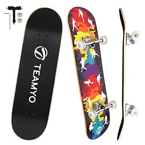 Skateboard Complet,Planche à Roulettes...