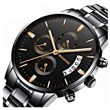 Micacchi Analog Multicolor Dial Date Calendar & Time Watch for Mens Boys Watches