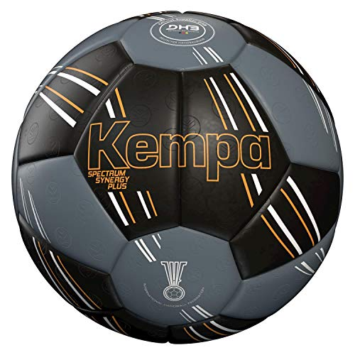 Kempa Spectrum Synergy Primo Handball, schwarz/Anthra, 3