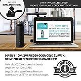 720°DGREE 950ml Edelstahl Trinkflasche (Onyx Black) - 8