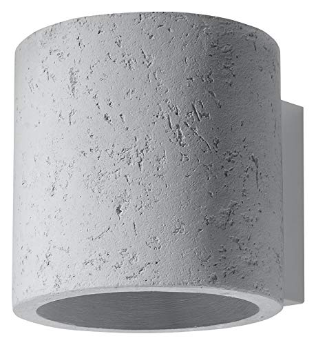 Sollux Lighting wandlampen, beton, grijs, 12 x 10 x 10