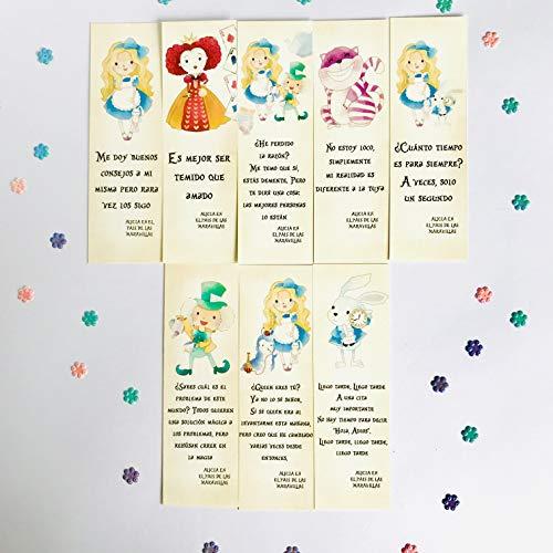 Pack de Marcapáginas Alicia en el Pais de las Maravillas, Punto de libro