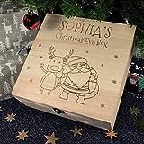 Weihnachten Ahorn Holzkiste Geschenkbox Push Pull Verpackung Box Ring Schmuckschatulle, QHJ Deko Weihnachten Weihnachten Maple Box Push Pull Schmuckschatulle (C)