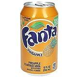 Fanta - Lata de Fanta sabor piña (33 cl)