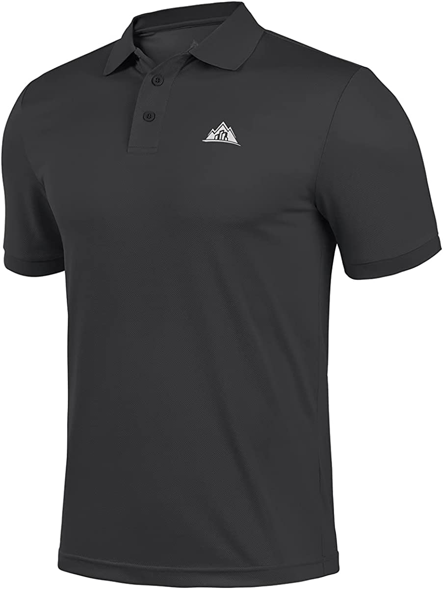 BYLESIN Men's Regular-fit Columbus Mall Quick-Dry Golf Shirt 25% OFF Sleeve Short Polo