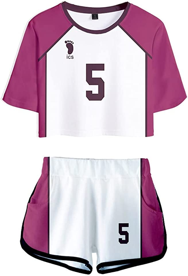 Githakin Haikyuu Hinata Shoyo School Uniform Jersey Karasuno Tobio Nishinoya YuuHigh Adult Cosplay Costume