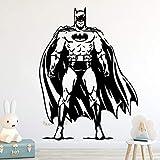 Batman sticker mural sticker classique Batman Superhero Roll Furniture Décoratif Pour La Décoration Des Enfants Chambre Décoration Murale