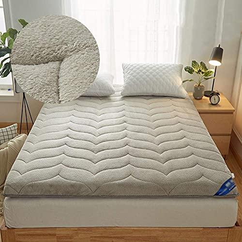 RTYUIO Tapete de Tatami, colchón de futón portátil Tradicional japonés, colchón Plegable, colchón Grueso, Almohadilla para Dormir de Tatami, c 90x190cm (35x75 Pulgadas)