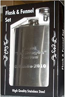 Personalized Flask and Funnel Gift Set