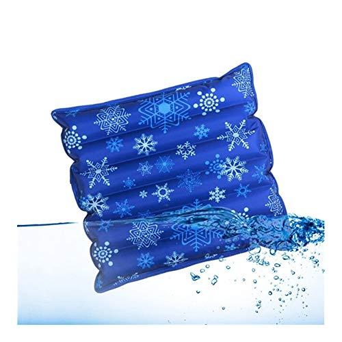 Cojín de espesor helada agua fría y resistente al agua Inicio Silla de oficina Cojín auto-ayuda de almohadas, además de agua bolsa trasera cojín de asiento ( Color : 5 , Specification : 36x36 cm )