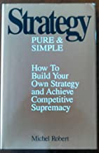 Strategy, Pure & Simple