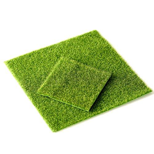 DatingDay Artificial Grass Fake Lawn Grass Miniature Dollhouse Home Garden Ornament (1 Pcs)