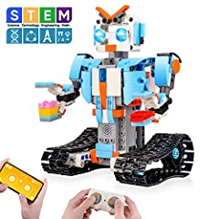 【Flexible Remote Control】: Our remote-controlled robots come with a simple remote control design that makes it easier to move in all directions on a smooth, flat floor indoors or outdoors - left, right, front, back and 360 degree rotating stunt. Remo...