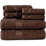 Sunshine Linens - Juego de toallas de baño (100% algodón puro, secado rápido,...
