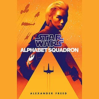 Alphabet Squadron (Star Wars) audiobook cover art