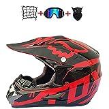 Kids Motorcycle Helmet, Kids Cross...