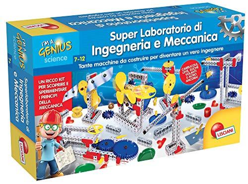 Lisciani Giochi- I'm A Genius Piccolo Genio Super Laboratorio di INGEGNERIA E Meccanica, 56286