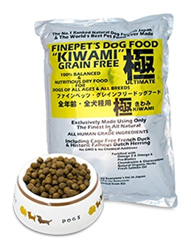 KIWAMI 4 KG 100% senza cereali, cibo secco a base di anatra. Formula completa e bilanciata per cani di tutte le razze ed età. Kiwami è il miglior prodotto al mondo sviluppato in 20 anni di ricerca.