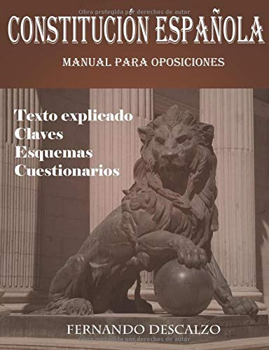 Constitución española - Manual para oposiciones