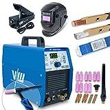 Wig Schweißgerät mit 200 Ampere und Elektrodenschweißfunktion 170 Ampere | Pulsfunktion - Gasvor- &...