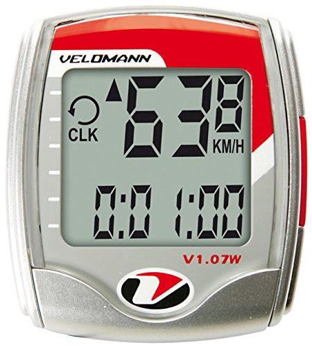 Velomann v107W Zähler Grau/Rot