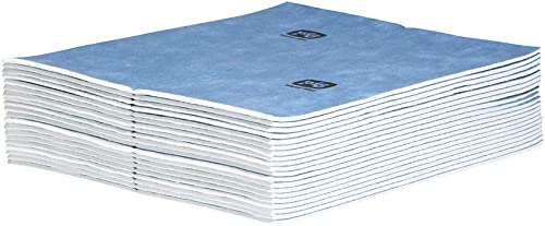 Water Absorbing Mats for Basement | Super Water Absorbing Mat Pads by New Pig | New and Improved | Heavy Duty | Wring...
