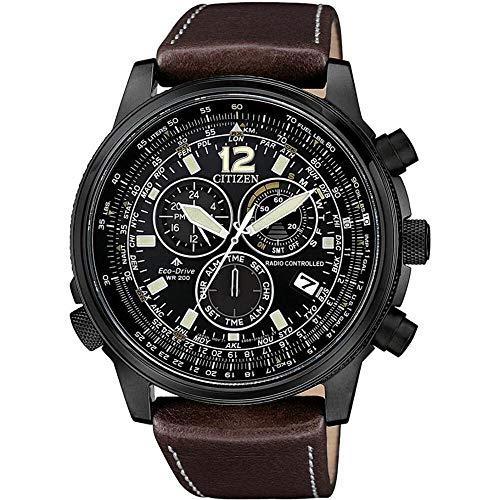 orologio cronografo uomo Citizen Pilot casual cod. CB5865-15E