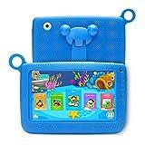 A2 Tablette Tactile Enfants 7 Pouces Android 6.0, Tablette PC avec Manchon en...