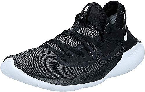 Nike Men's Flex RN 2019 Running Shoes (Black/White/Anthracite, 9)
