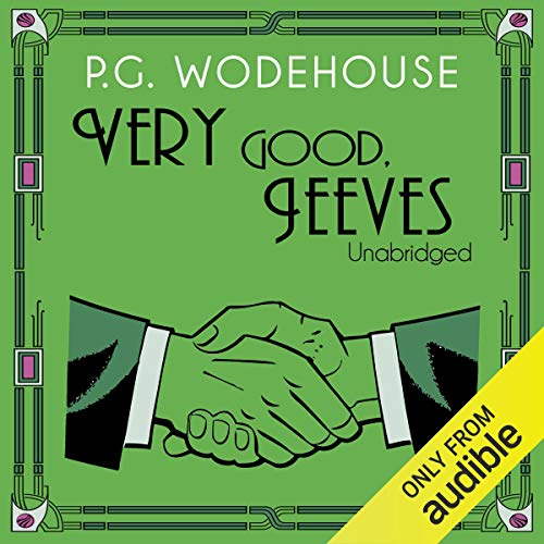 Very Good, Jeeves audiobook cover art