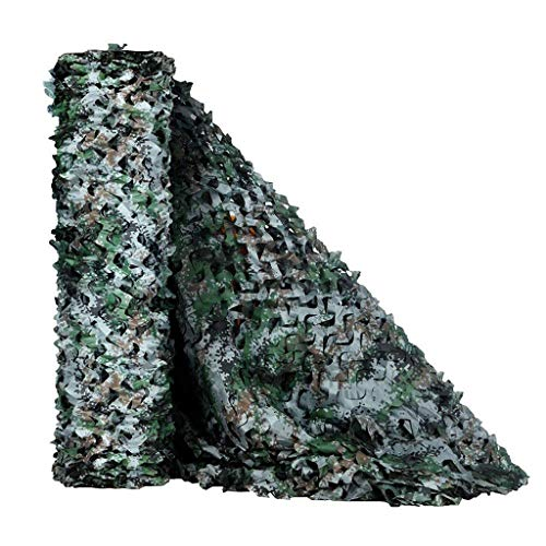 Camouflage Netting for Kids Dens 3x2m 5x3m Bedroom Decoration Oxford Fabric Camouflage Net Army Camo Netting Great For Terrace Gazebo Balcony Pergola Sunshade Tent Camping Shooting Hunting Hideen
