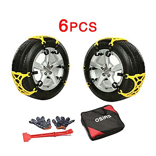 OSIAS New Snow Tire Chain for Car Truck SUV Anti-Skid Emergency Winter...