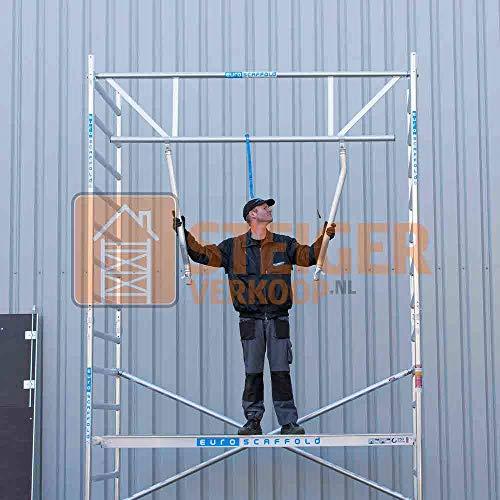 Euroscaffold Steigerverkoop - Rolsteiger voorloopleuning 250 cm
