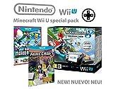 Nintendo consola Premium Pack 32GB Wii U Minecraft Wii U Edi