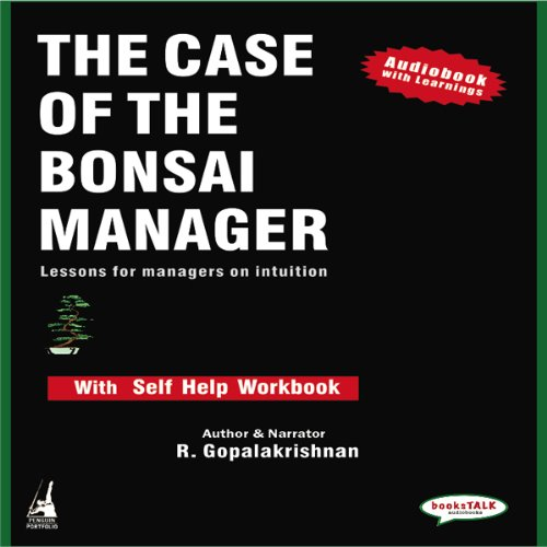 The Case of the Bonsai Manager audiobook cover art