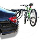 LT Sport 4-Door Sedan Bike Rack Holder Car Rear Trunk Mount 3 Bicycle Carrier
