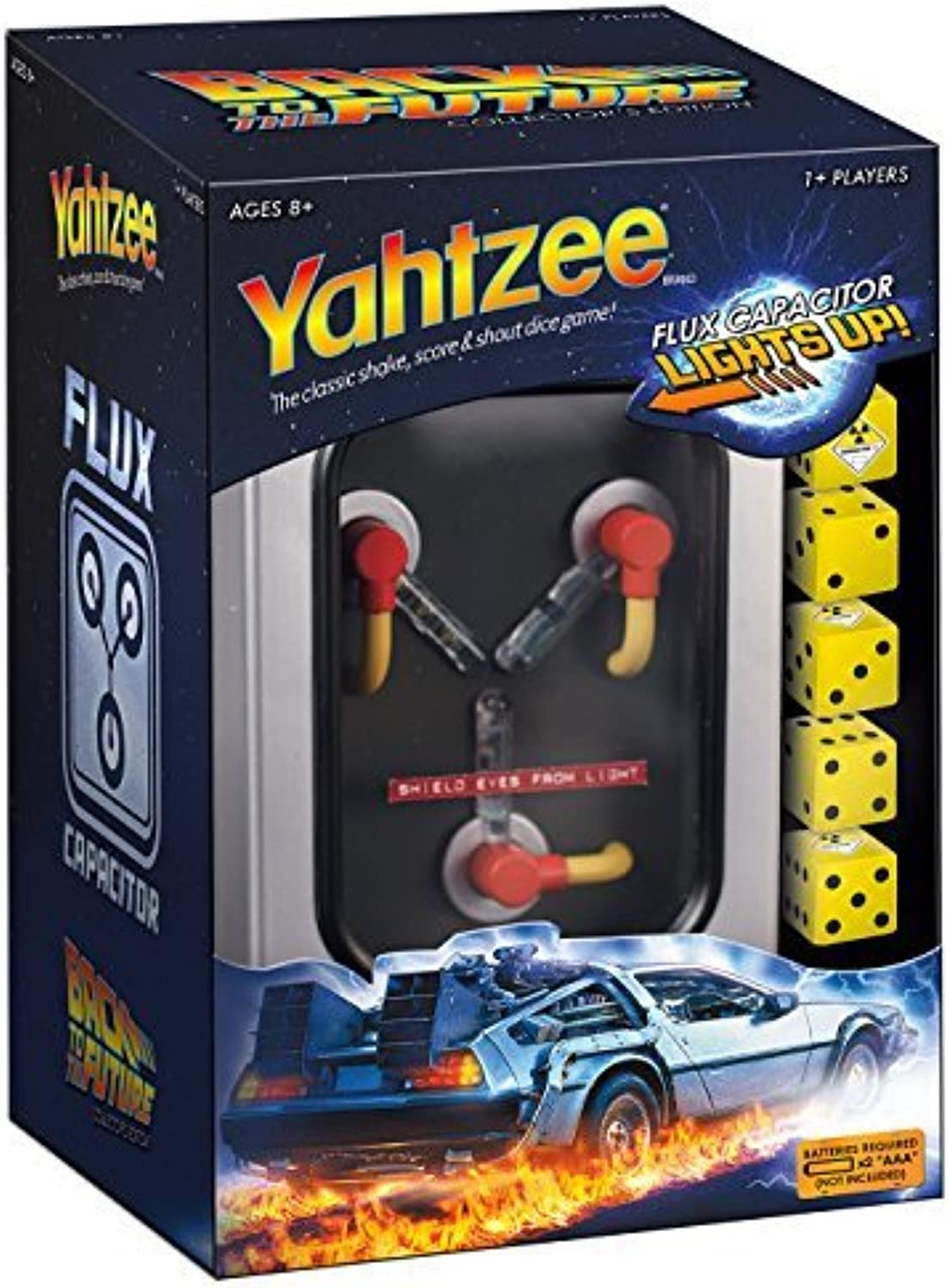 Yahtzee  Back to the Future Collector's Edition by Unknown