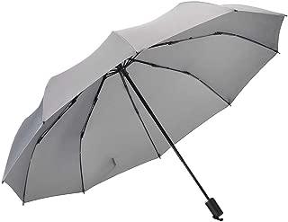 Vialifer折り畳み傘 軽量 手動開閉 10本骨 116cm 折りたたみ傘 耐風撥水 晴雨兼用 収納ケース付き グレー