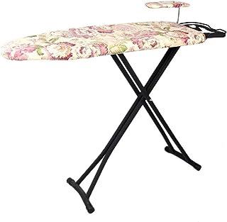 ZB-KK Table à Repasser, Au Sol Grande Table à Repasser Table à Repasser de métal Stable, avec 360 ° Board 120 * Rotating M...