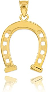 14k gold equestrian jewelry