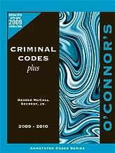 O'Connor's Criminal Codes Plus 2009-2010