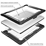Macbook Pro 13 Case, NexCase [Heavy Duty] Slim Rubberized [Snap on] [Dual Layer] Hard Case Cover with TPU Bumper Cover for Apple Macbook Pro 13-inch 13' A1502 / A1425 2015 Release (Black)