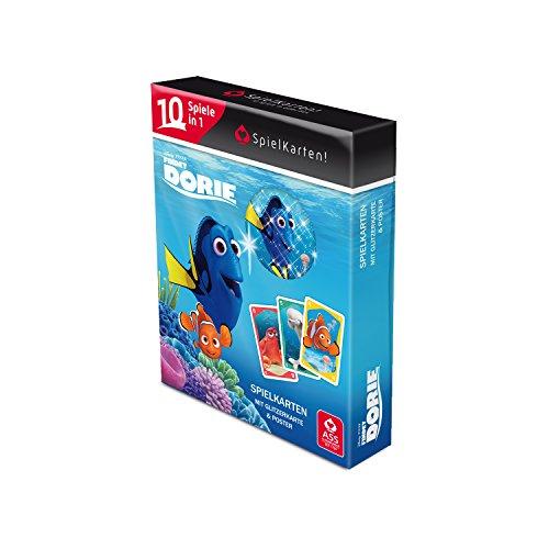 ASS Altenburger 22577506 - Findet Dory SpielKarten! - Die Kartenspielesammlung mit 10 Spielen in 1 Box